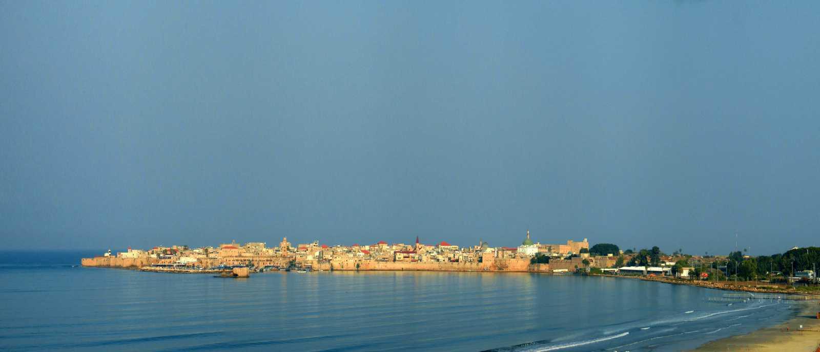 Панорама старого Акко с Хоф-hа-Тмарим (фото М.М.)